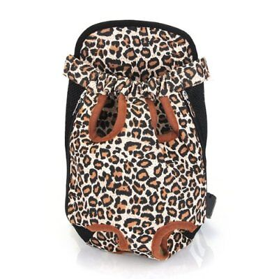 Exchange Carrier Backpack Front Size XL Fabric for Leopard Dog A2Y7