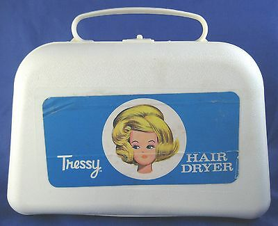 Vintage Tressy Hair Dryer with Hairspray Hasbro American Character Doll Works!
