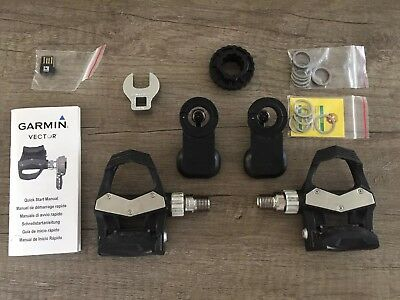 Garmin Vector 2 Dual Side Power Meter Pedals In Original Box With All Accessory