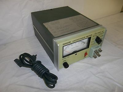 Boonton Electronics 72B Full Scale Analog Capacitance Meter Test Adapter