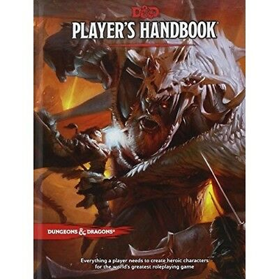 Dungeons and Dragons Players Handbook 5th Edition NEW 5e Rule Book D&D Latest HB