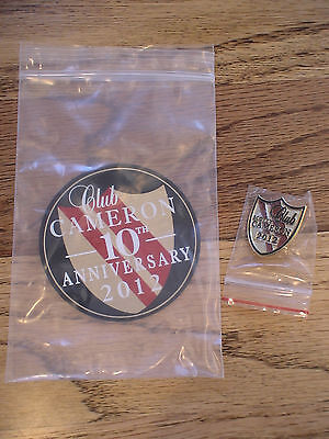 2012 Scotty Cameron Club Members Pin & Sticker New In Plastic