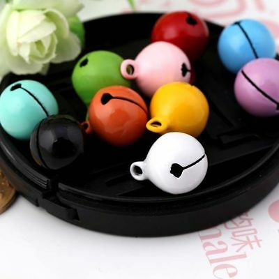 Colorful Craft Jingle Bells Holiday Christmas Home Decoration DIY Doll Pet Bells