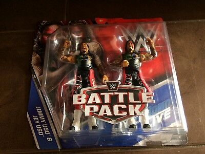 The Usos Jimmy And Jey Uso Smackdown Battle Pack Wwe Wrestling Figures New