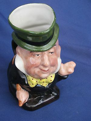 Charles Dickens Collection Character Jug Mr Micawber