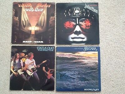 4 Rock Albums Various Artists VGC