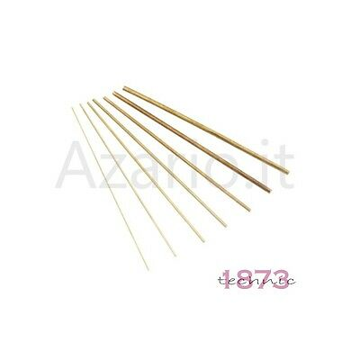 Fingers Brass 15 cm ø mixed 0.4 - 4 mm bars 37 pcs Bushing Wire Brass Clock
