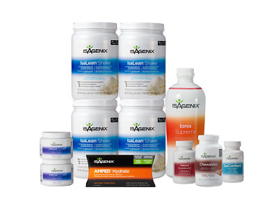 ISAGENIX 30-Day Cleansing and Fat Burning System - Any Flavour!