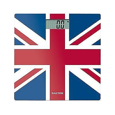 Salter Ultra Slim Glass Electronic Digital Bathroom Scales - All Colours