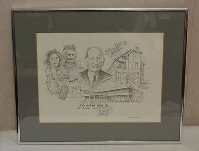 Avon 100 Year Anniversary 1886 -1986 McConnel FRAMED LIMITED PRINT by P. Harding