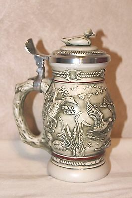 "Collectible Avon 1988 ""Northern Wilderness Duck Stein"" Handcrafted in Brazil EUC"