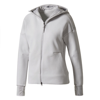 FELPA FULL ZIP CON CAPPUCCIO DONNA ADIDAS ZNE HOODIE PULSE training fitness