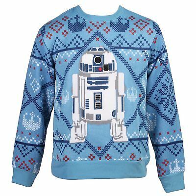 Star Wars Cozy R2-D2 Men's Ugly Christmas Sweater