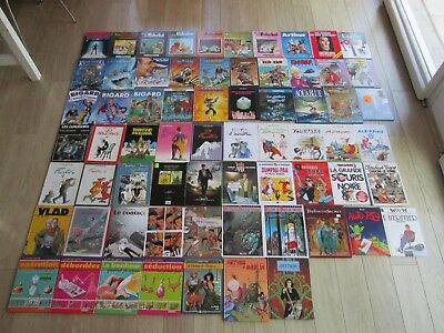 Lot De 67 Bd Bidochon Aventure Largo Winch Divers Tres Bon Etat Global Lot68