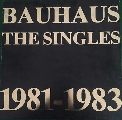 "BAUHAUS - The Singles 1981-1983 - 12"" Compilation"