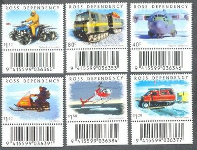 Ross Dependency - mnh Transport-Antarctic -2000(66-71)