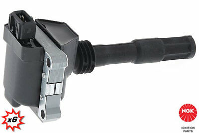 6x NGK Ignition coil U5040 stock code 48154. In stock, fast despatch UK seller