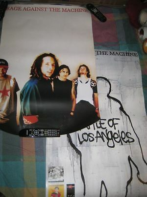RAGE AGAINST THE MACHINE-(the battle of los angeles)-24X36 POSTER-MINT-RARE