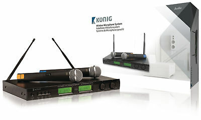 Konig 16-Channel Wireless Microphone Set 863 - 865 Mhz