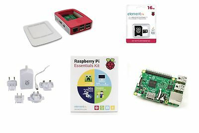 Raspberry Pi The Raspberry Pi 3 Essentials Kit Media