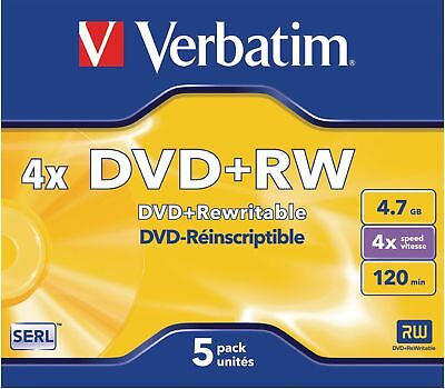 Verbatim DVD 4.7 GB 5 Pieces
