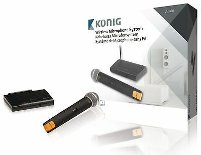 Konig Wireless Microphone Set 863 - 865 Mhz