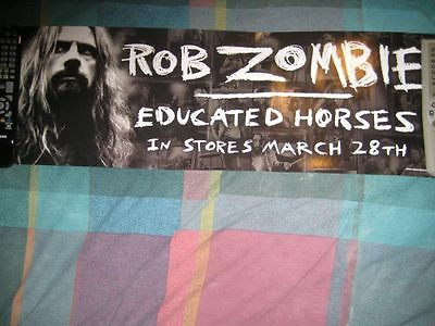 ROB ZOMBIE-(educated horses)-8X26-POSTER-MINT-RARE