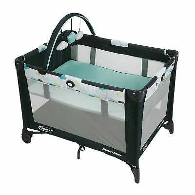 Graco Pack And Play Portable Baby pack  play playpen playard Stratus toddler fun