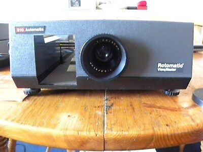 Rotomatic 510 view master,link projector screen,2 rotary trays,280 photos