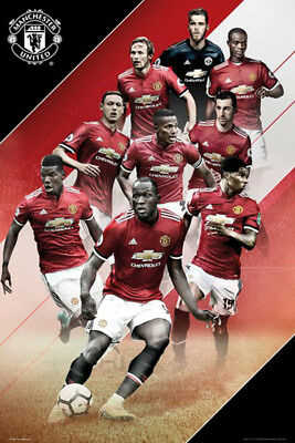 Manchester United Season 2017-18 - Players Poster 91.5cm x 61cm