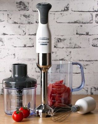 NEW Sunbeam SM9000 Stickmaster Platinum Stick Mixer