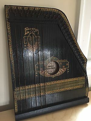 "Vintage German ""salon-harfe"" small string harp"