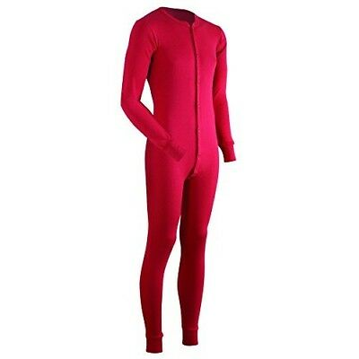 ColdPruf Authentic Union Suit for Men - 2 Layer Warmth - Base Layer - Medium A5
