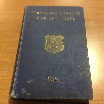 Yorkshire County Cricket Club season 1912