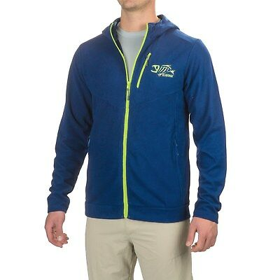 G. Loomis Stormcast Fishing Full Zip Hooded Jacket Navy Blue Color Choose Size