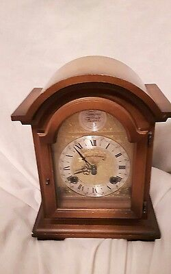 Tempus Frigile mantle Clock vintage made in West Germany Schmeckenbecher 130-080