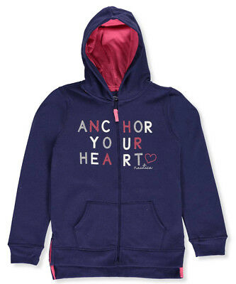 Nautica Big Girls' Hoodie (Sizes 7 - 16)