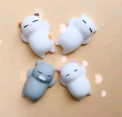 Cute Novelty Lazy Cat 🐱 Squishy Squeeze Toy Anti Stress Relief Kids Toy Gift 🐈