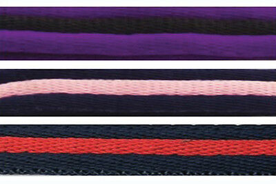 Lunge Line / Lunge Rein Soft Webbing Various Colours