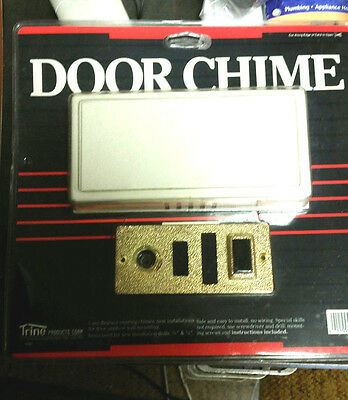 VINTAGE 1986 NEW Trine  MECHANICAL Door Chime No. 29GC