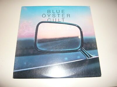 Blue Oyster Cult Mirrors LP Vinyl Record Album In Thee