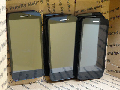 Lot of 9 Alcatel OneTouch Pixi Charm A450TL TracFone Smartphones Power On AS-IS
