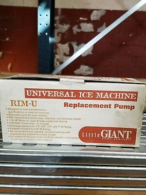 Little Giant Universal Ice Machine Replacement Pump  Brand new