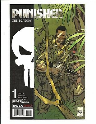 Punisher Max: The Platoon # 1 (Dec 2017), Nm New
