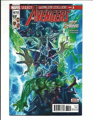 Avengers # 672 (Marvel Legacy, Dec 2017), Nm New