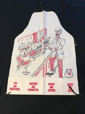Vintage Parvin Creations Novelty Apron with Pockets~Kitchen~Bar