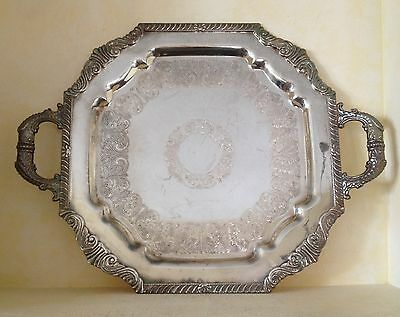 Vintage Sheffield Reproduction EP on Copper Tray Platter