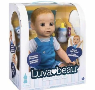 Luvabeau Luva Beau  Boy Doll! Toys R Us EXCLUSIVE!  SOLD OUT!! New