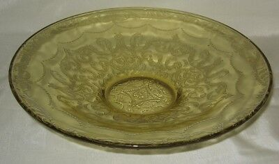 Federal Madrid Amber Shallow Center Console fruit  Bowl
