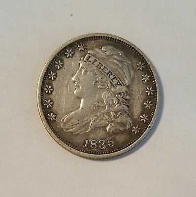 1835  10 C Capped Bust dime - EF